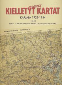 Kielletyt kartat Karjala 1928-1944,Pekkanen Risto, Martimo Pentti