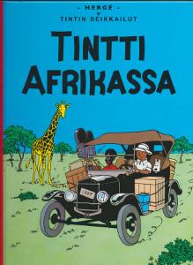 Tintti Afrikassa,Herge